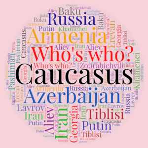 Word Art Whos who in Caucasus 2020 f